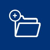 Folder creation icon