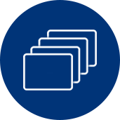 Four image sequence icon